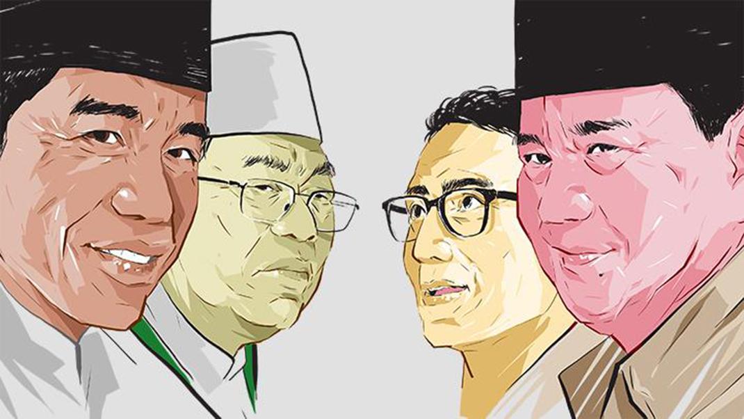 Jokowi Vs Prabowo Adu Kuat di KSB