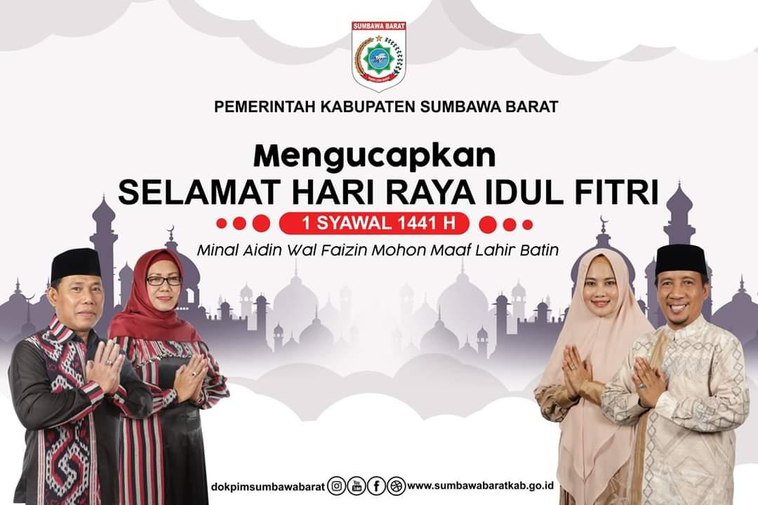 Iklan Idul Fitri Bupati Sumbawa Barat