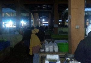 Pedagang Pasar tanamira