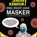 Tetap Disiplin Pakai Masker