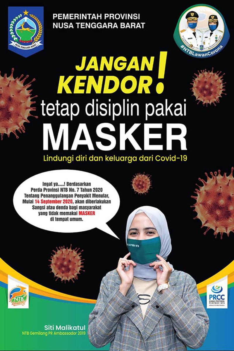 Iklan masker covid-19