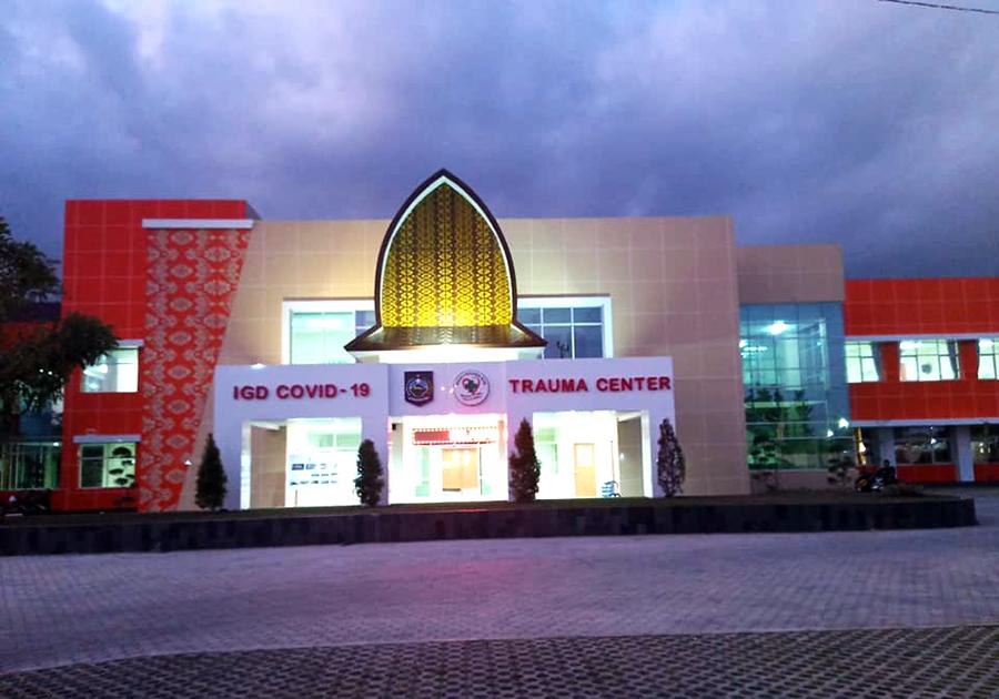 Rumah Sakit Khusus Covid-19 dan Trauma Center Provinsi NTB Resmi Beroperasi