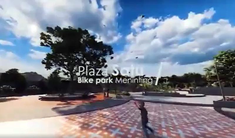 sirkuit sepeda meninting 5