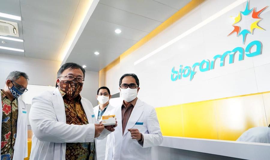 Progres Pembuatan Vaksin Merah Putih Telah Capai 50 Persen