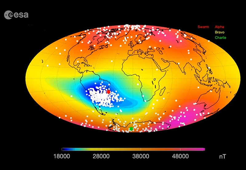 Medan Magnet Bumi - ESA