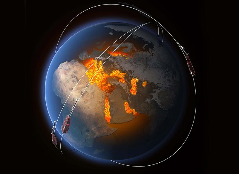 Medan Magnet Bumi Ditemukan Melemah