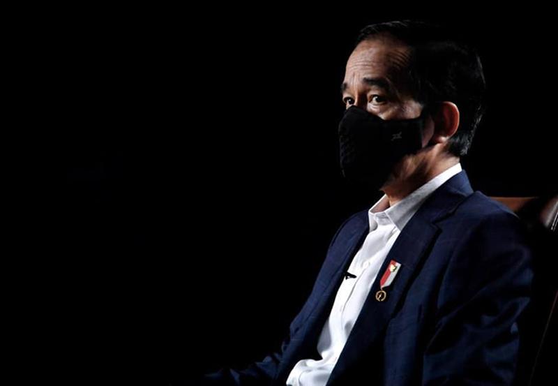 Jokowi Pakai Masker