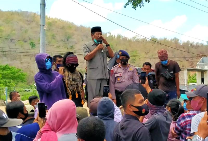 DPRD KSB Lepas Tangan Soal Urusan Tambang Gunung Semoan
