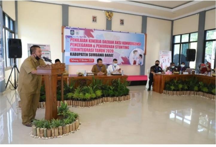 Pjs Bupati Ajak Tekan Angka Stunting di Sumbawa Barat