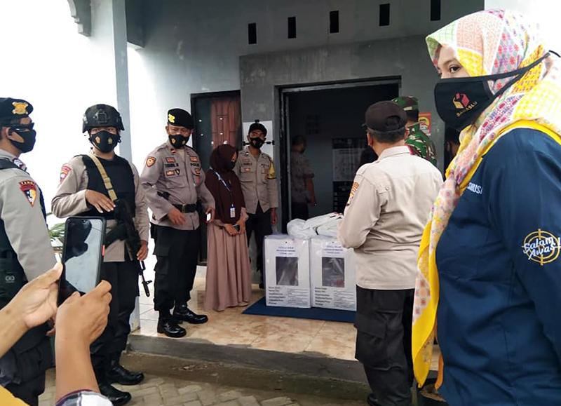 Polisi Kawal Ketat Distribusi Logistik Pilkada KSB