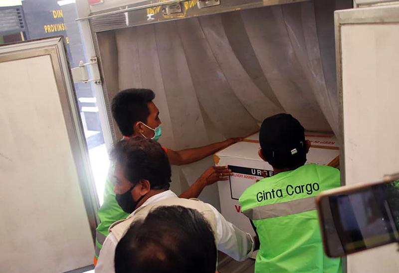 Semua Fasilitas Kesehatan di Kota Mataram dan Lombok Barat Dapat Vaksin Sinovac