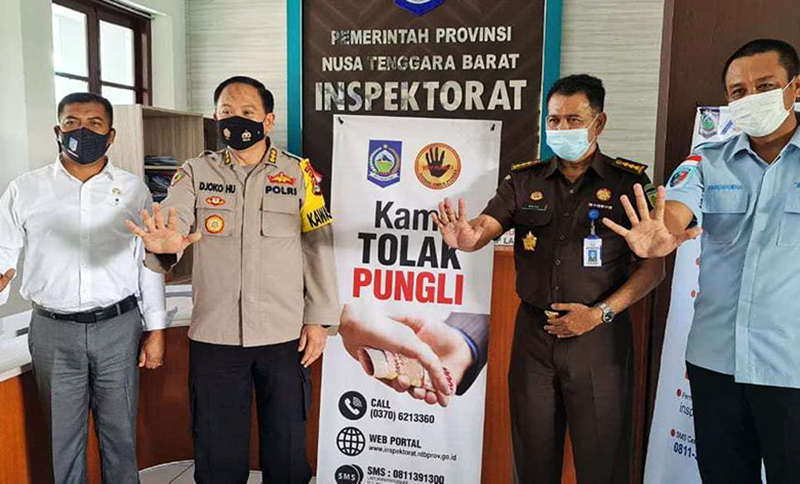 Polisi dan Jaksa Siap Berantas Pungli di NTB