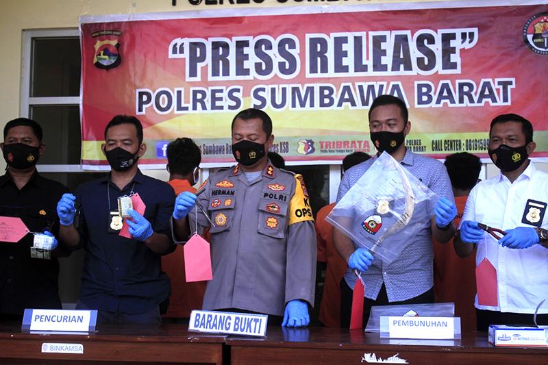 Dalam Tempo Sepekan, Kriminalitas di Sumbawa Barat Melonjak Tajam