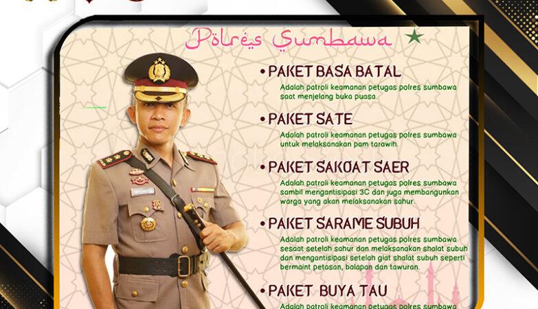 Patroli Ramadhan Polres Sumbawa