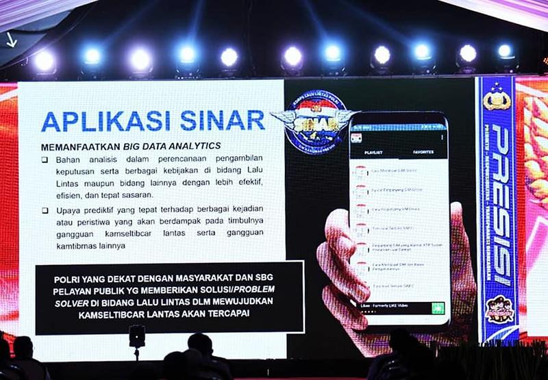SIM Nasional Presisi - Aplikasi SIM Nasional Presisi (SINAR)