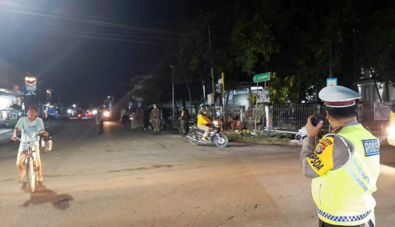 Polisi Giat Patroli Pada Malam Ramadhan