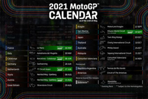 Kalender MotoGP Musim 2021