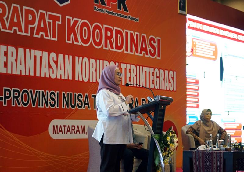 KPK di NTB - Wakil Ketua KPK Lili Pintauli Siregar
