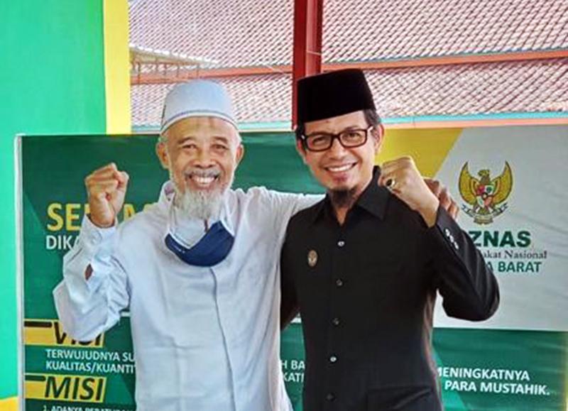 Kepala BPKD KSB Bersama Ketua BAZNAS KSB