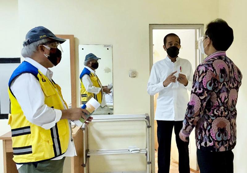 Presiden Jokowi Perintahkan Seluruh Kepala Daerah Turun Lapangan Tangani Covid-19