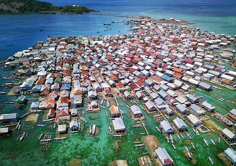 Pulau Terpadat di Dunia Ada di NTB - Pulau Bungin Sumbawa