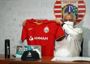 Amman Mineral Resmi Jadi Official Sponsor Persija Jakarta Musim 2021-2022