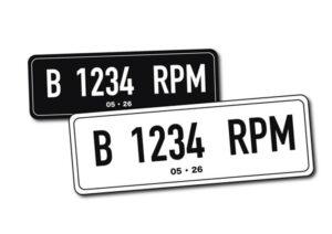 Warna Plat Tanda Nomor Kendaraan Bermotor Pribadi