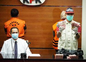 Bupati dan Suami Serta Ajudan Ditangkap KPK, Diduga Korupsi Dana Hibah Bencana - Gelar Perkara Korupsi KPK