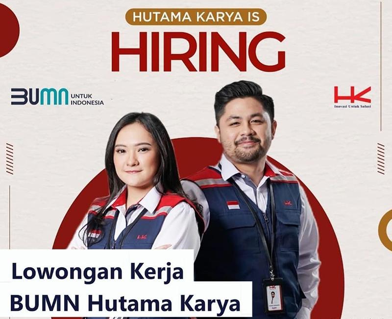 Lowongan Kerja PT Hutama Karya (Persero) - Post Graduate