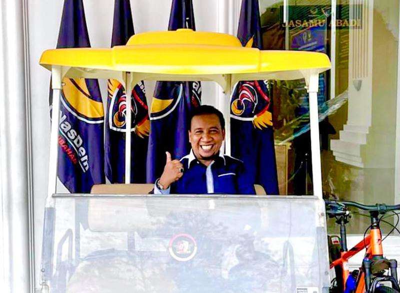 Surya Paloh Tunjuk Fud Syaifuddin Pimpin Partai Nasdem di Sumbawa Barat - Ketua DPD Partai Nasdem KSB