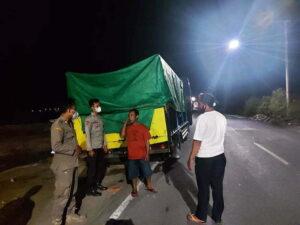 2 Ton Daging Ayam Beku Asal Lombok Ditolak Masuk Sumbawa - Truk Pengangkut Daging Ayam Beku Tanpa Dokumen Ditahan Petugas Gabungan Pelabuhan Poto Tano