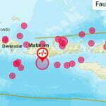 78 Kali Gempa Bumi Guncang NTB Selama Sepekan - Info Gempa Bumi BMKG Mataram