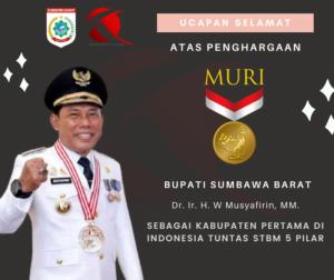Iklan Ucapan Selamat & Sukses Atas Rekor MURI Tuntas STBM 5 Pilar KSB - KOBARKSB.com
