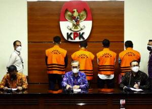 KPK Tetapkan 10 Orang Anggota DPRD Sebagai Tersangka Korupsi Pengadaan BarangJasa dan Pengesahan APBD - Gelar Perkara Kasus Korupsi KPK